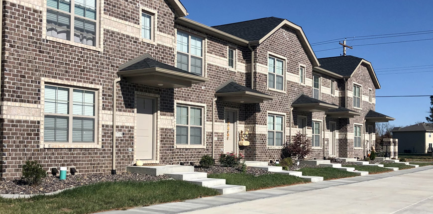 Luxury Town Homes in Collinsville IL