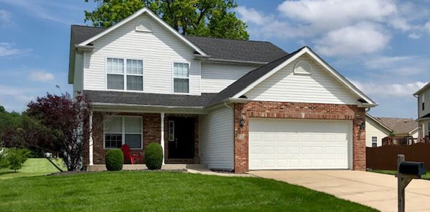 Rental with Gas Fireplace in Maryville IL