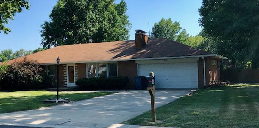 Rental with Fenced Backyard in Collinsville IL