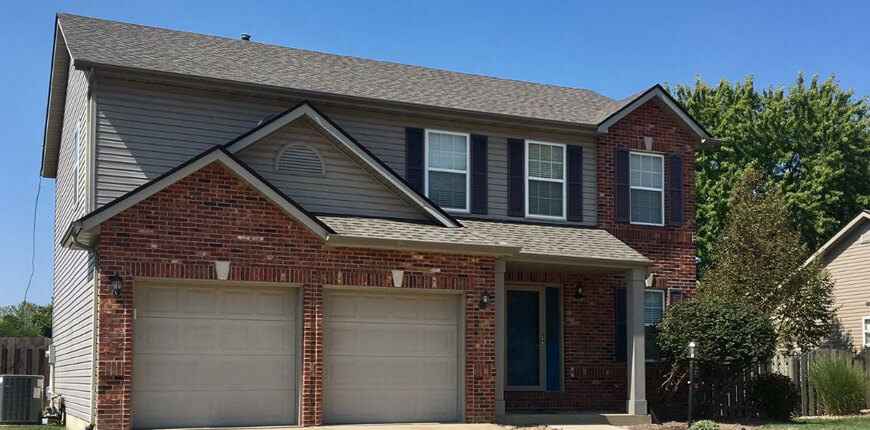 Rental with Upstairs Laundry in Edwardsville IL